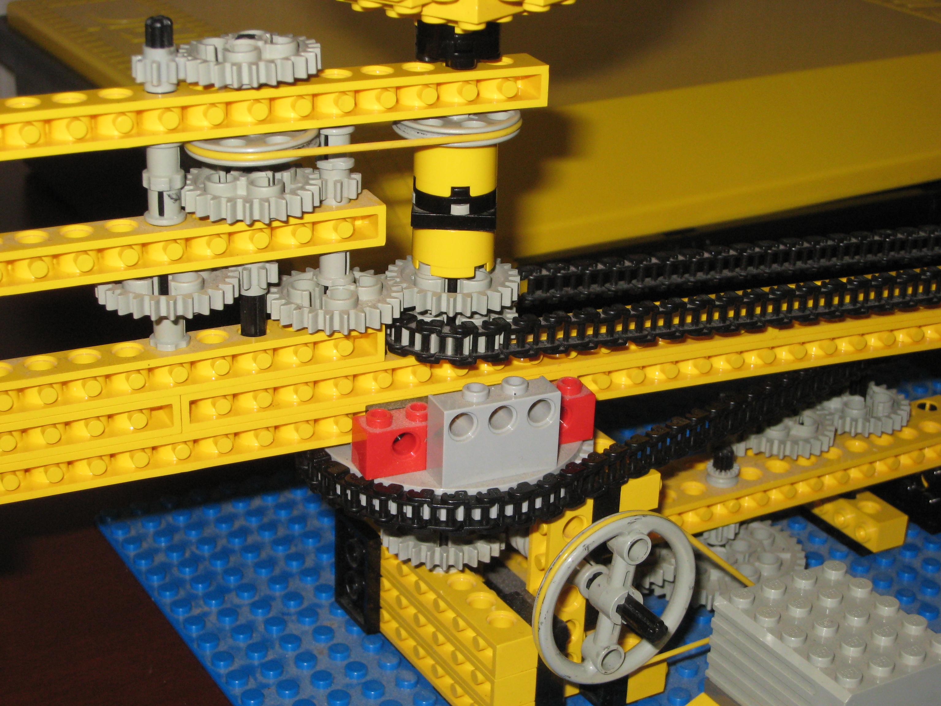 Lego Orrery